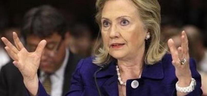 Menlu AS Hillary Clinton