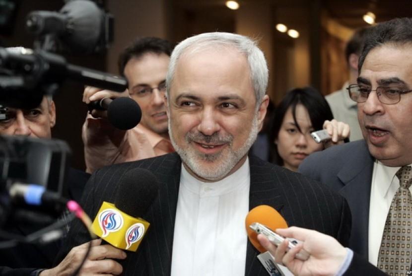 Menlu Iran, Muhammad Javad Zarif.
