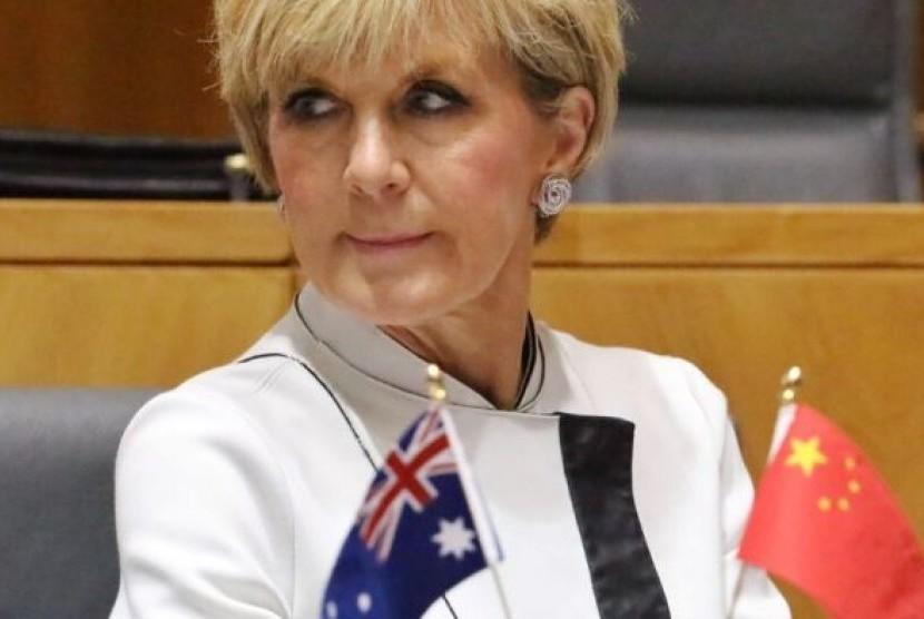 Mantan menteri luar negeri Australia Julie Bishop