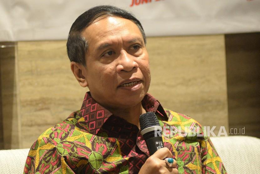 Menpora Zainudin Amali bersama Polda Metro Jaya menyuarakan gerakan antinarkoba dan mempromosikan PON 2020 di Papua.