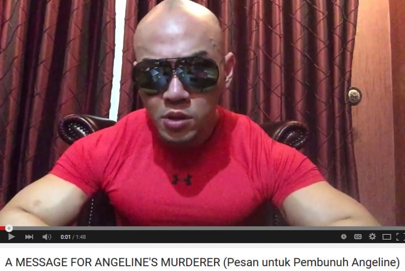 Mentalis Deddy Corbuzier membuat video yang berisi pesan untuk pembunuh Engeline