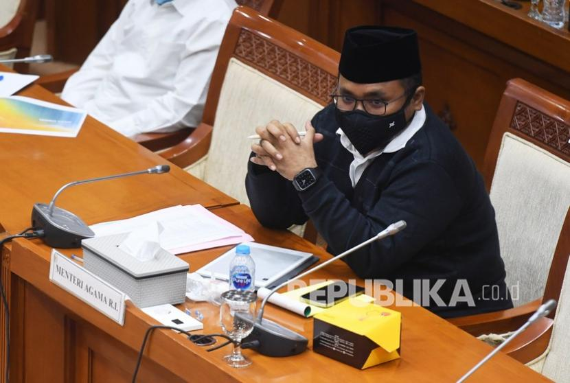 Menteri Agama Yaqut Cholil Qoumas