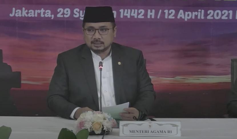 Menteri Agama Yaqut Kholil Qoumas