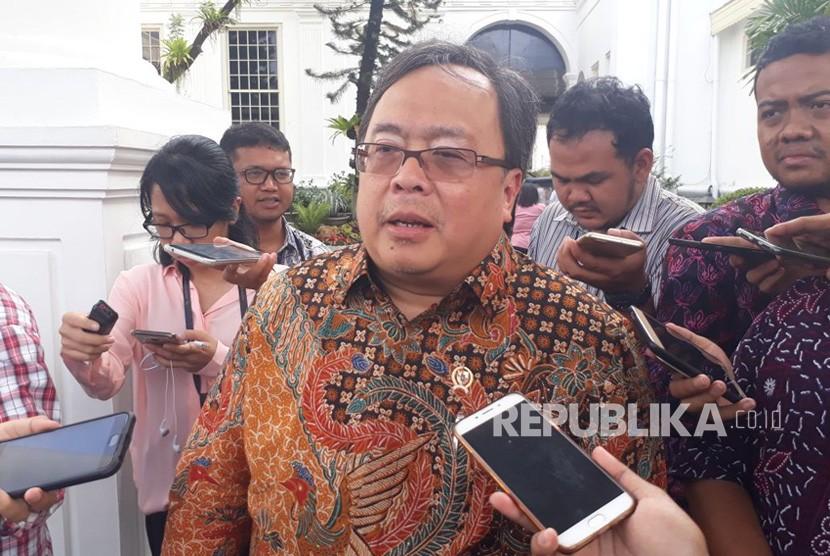 Menteri Bappenas Bambang Brodjonegoro