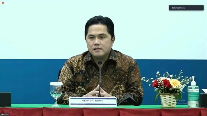 Menteri BUMN Erick Thohir mengatakan, pemerintah melalui program Indonesia Tumbuh akan dijadikan sebagai lumbung pangan dunia baik dari sektor perikanan maupun perkebunan.