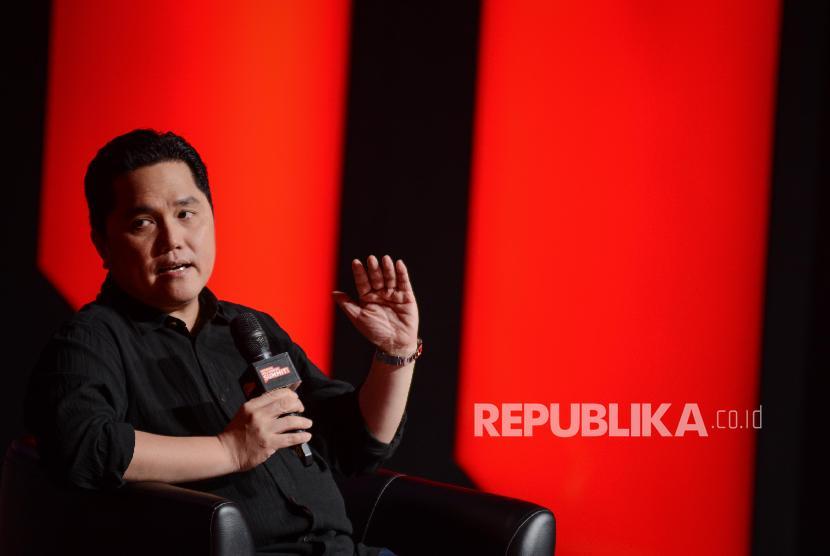 Erick Thohir: Ada Surprise dari Pak Jokowi Awal Tahun Depan