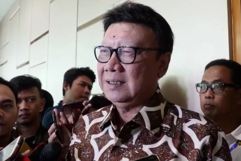 Menteri Dalam Negeri (Mendagri), Tjahjo Kumolo