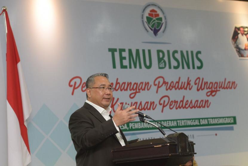 Menteri Desa, Pembangunan Daerah Tertinggal, dan Transmigrasi, Eko Putro Sandjojo.