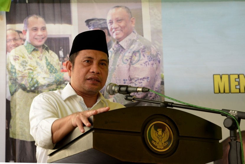 Menteri Desa Pembangunan Daerah Tertinggal dan Transmigrasi Marwan Jafar