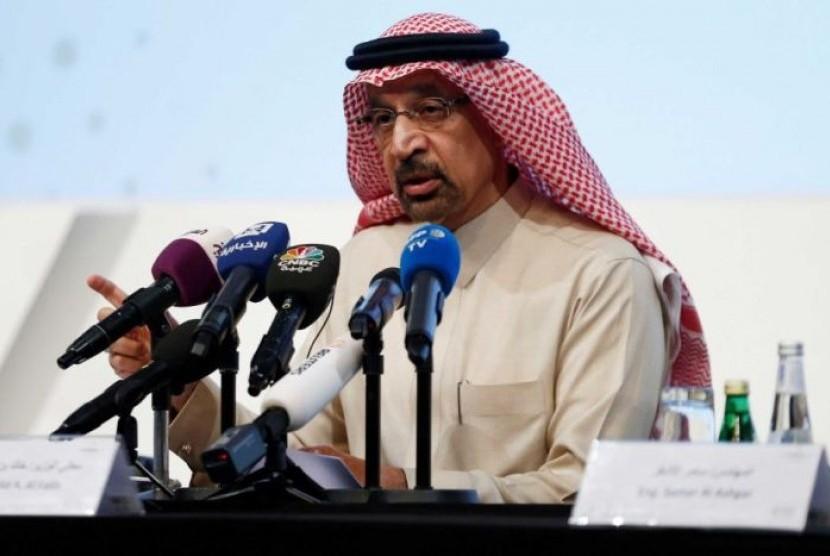 Menteri Energi Arab Saudi Khalid al-Falih.