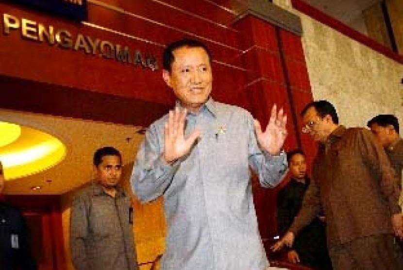 Menteri Hukum dan HAM, Amir Syamsuddin