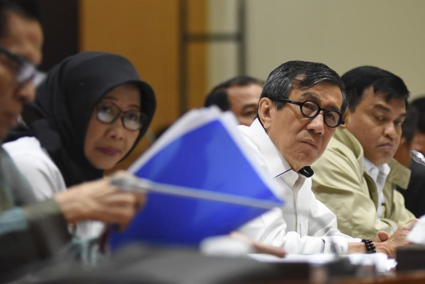Kemenkumham Rotasi 52 Pejabat, Dirjen PAS Diganti