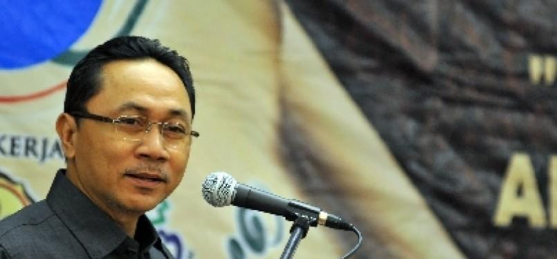 Menteri Kehutanan Zulkifli Hasan