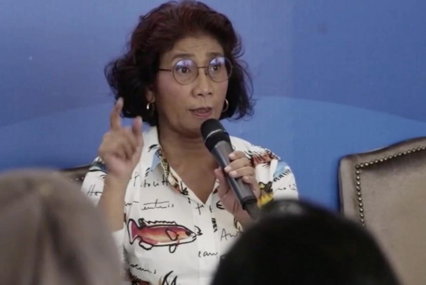 Menteri Kelautan dan Perikanan (KKP), Susi Pudjiastuti