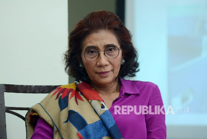 Menteri Kelautan dan Prikanan RI Susi Pudjiastuti