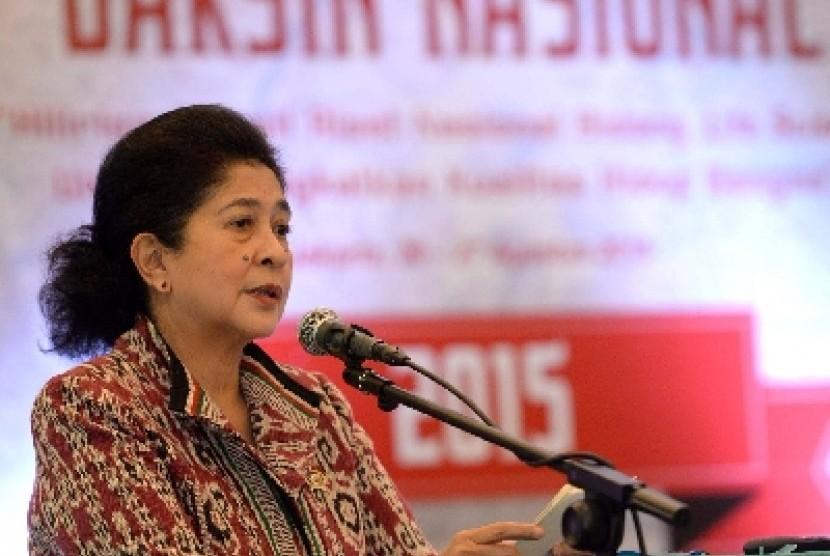 Menteri Kesehatan Nila Djuwita F Muluk