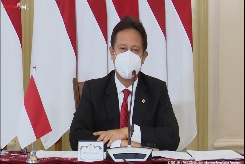 Menteri Kesehatan RI Budi Gunadi Sadikin.
