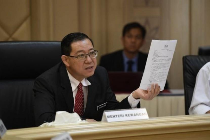 Menteri Keuangan Malaysia, Lim Guan Eng
