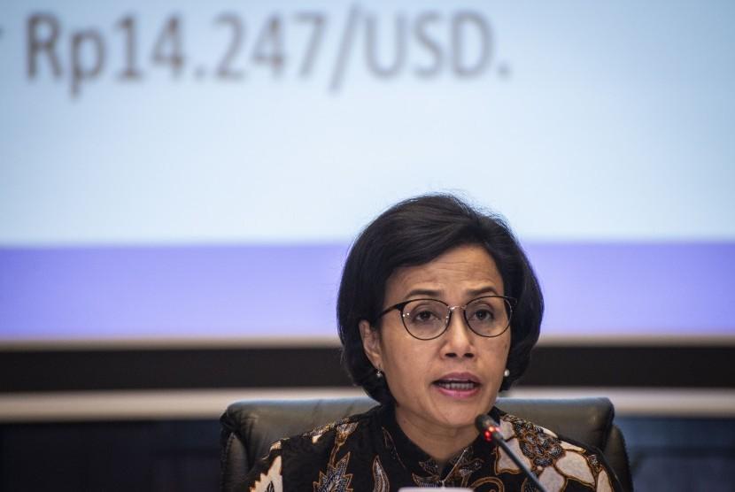 Finance Minister Sri Mulyani Indrawati