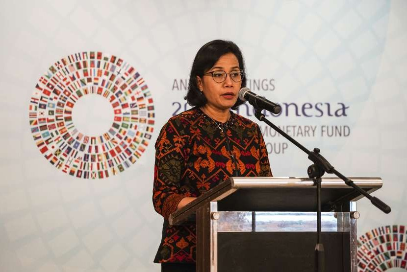 Finance Minister Sri Mulyani