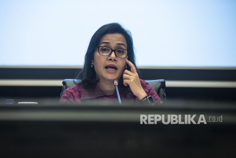 Finance Minister Sri Mulyani Indrawati