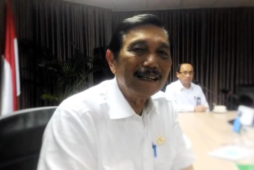 Menteri Koordinator Bidang Kemaritiman Indonesia, Luhut Binsar Panjaitan