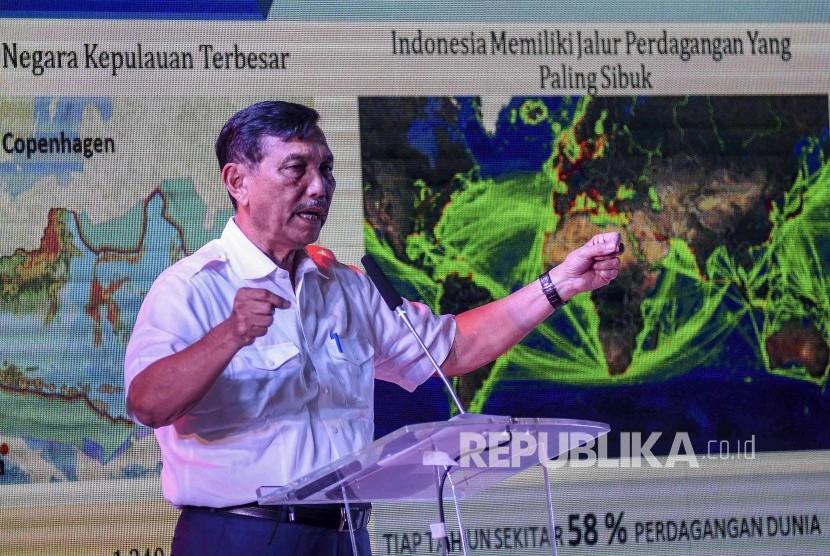 Menteri Koordinator Bidang Kemaritiman RI Luhut Binsar Pandjaitan.