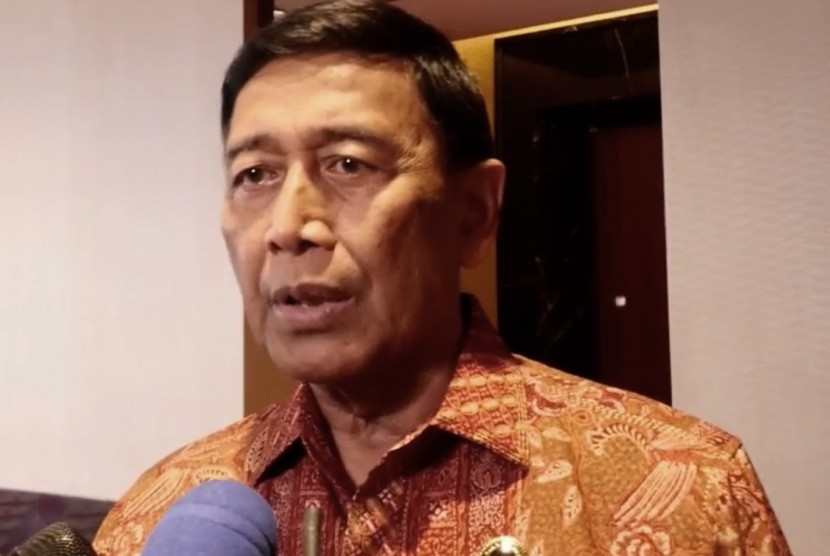 Coordinating Minister for Political and Security Affairs Wiranto.