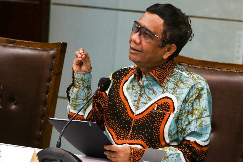 Menteri Koordinator Bidang Politik, Hukum dan Keamanan (Polhukam) Mahfud MD.