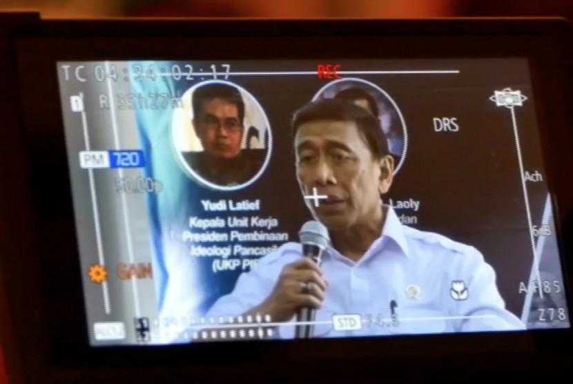Menteri Koordinator Bidang Politik Hukum, dan keamanan Republik Indonesia, Wiranto