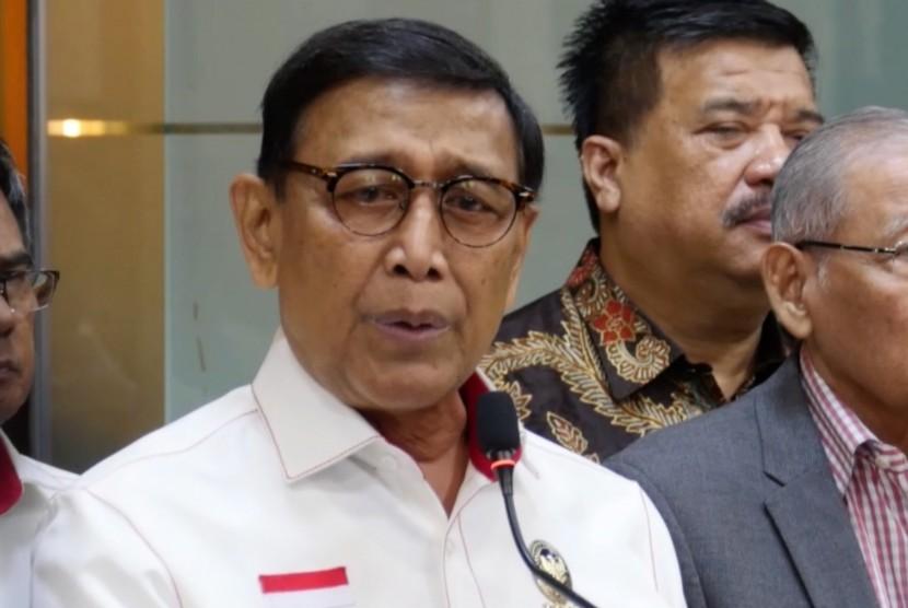 Menteri Koordinator Bidang Politik, Hukum dan Keamanan, Wiranto