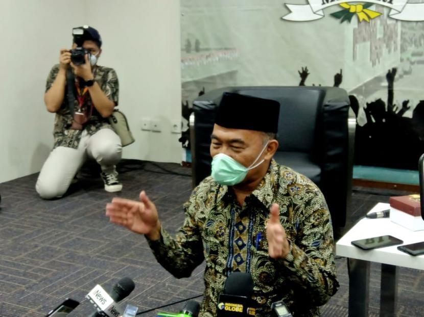 Menteri Koordinator Pembangunan Manusia dan Kebudayaan (Menko PMK) Muhadjir Effendy di Gedung Nusantara III, Kompleks Parlemen, Jakarta, beberapa waktu lalu.