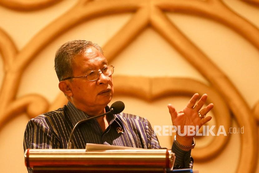 Menteri Kordinator Perekonomian Darmin Nasution
