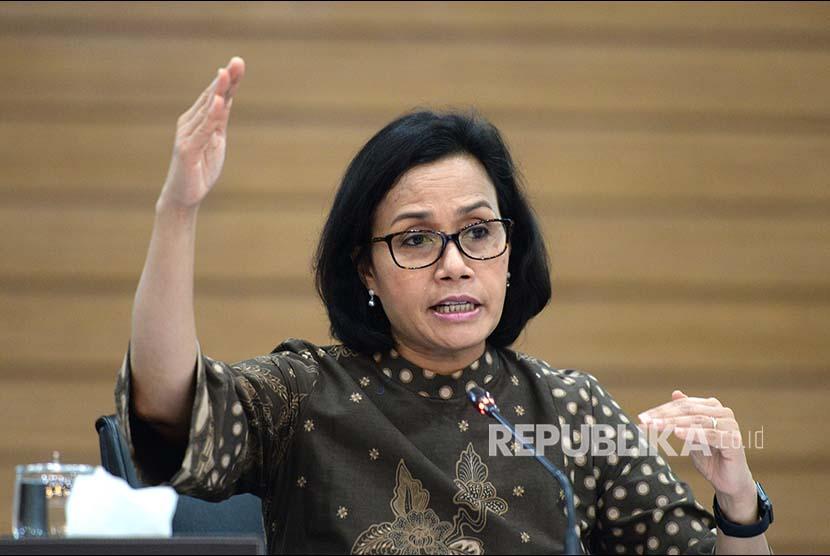 Menteri Kuangan Sri Mulyani.