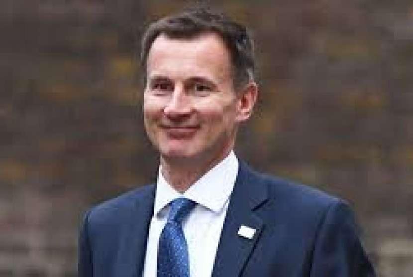 Menteri Luar Negeri Inggris Jeremy Hunt.