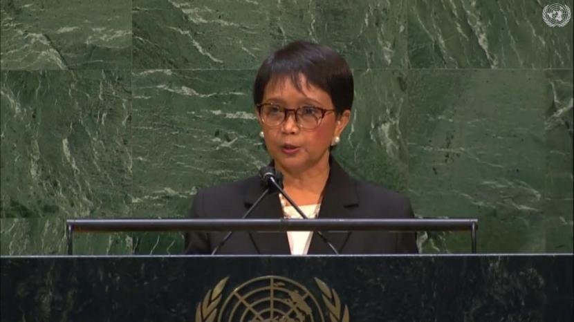 Menteri Luar Negeri (Menlu) RI Retno Marsudi