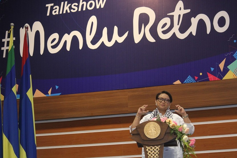 Indonesian Foreign Affairs Minister Retno Marsudi