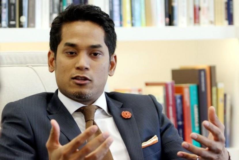 Menteri Olahraga Malaysia Khairy Jamaluddin.