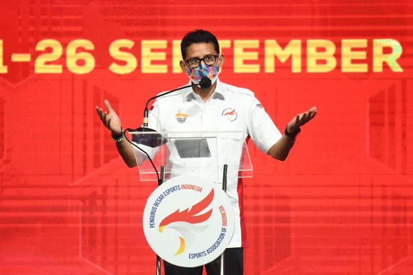 Menteri Pariwisata dan Ekonomi Kreatif (Menparekraf) RI, Sandiaga Uno.
