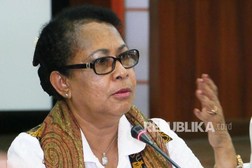 Menteri Pemberdayaan Perempuan dan Perlindungan Anak Yohana Yembise