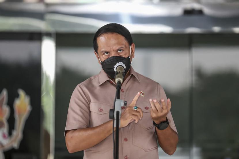 Menteri Pemuda dan Olahraga Zainudin Amali.