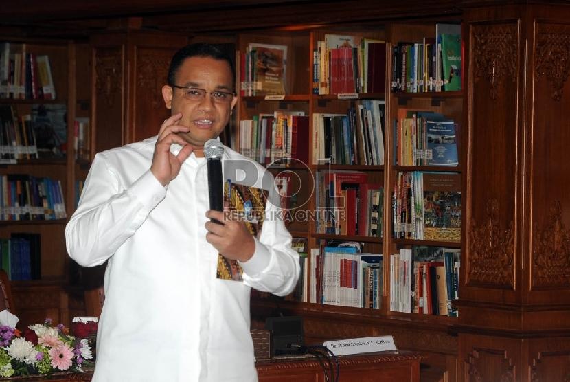 Menteri Pendidikan dan Kebudayaan Anies Baswedan