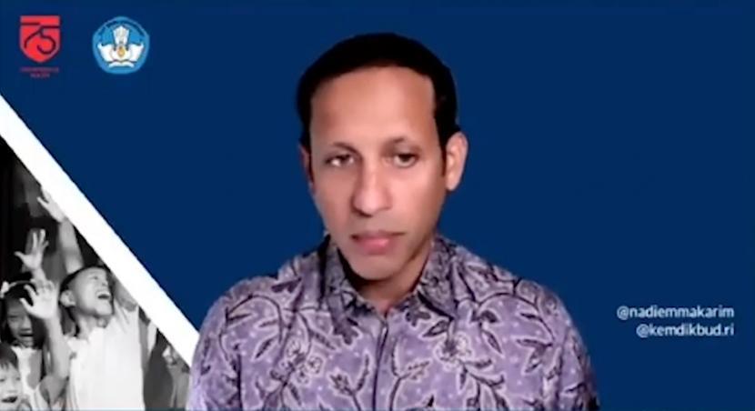 Menteri Pendidikan dan Kebudayan, Nadiem Makarim