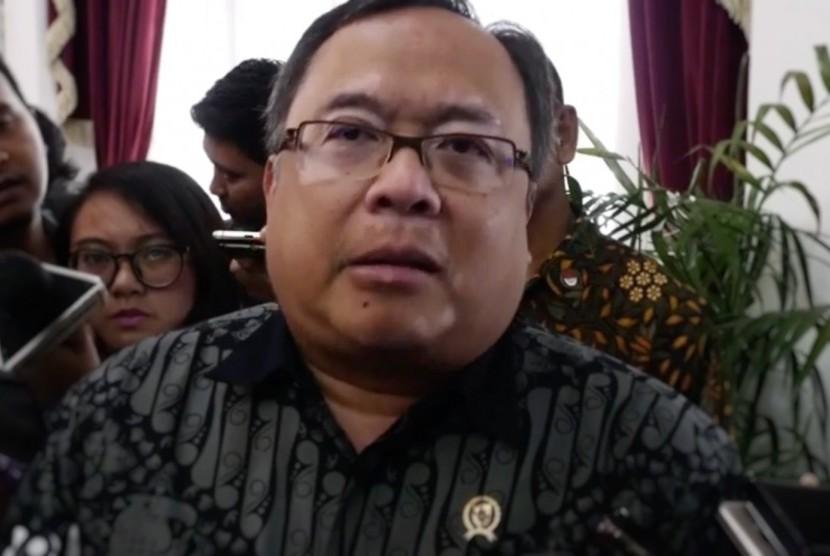 Menteri Perencanaan dan Pembangunan Nasional (PPN) Kepala Bappenas, Bambang Brodjonegoro