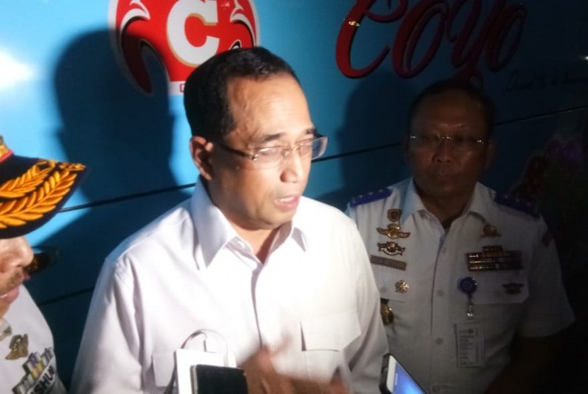 Transport Minister Budi Karya Sumadi