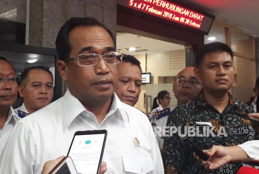 Menteri Perhubungan (Menhub) Budi Karya Sumadi.