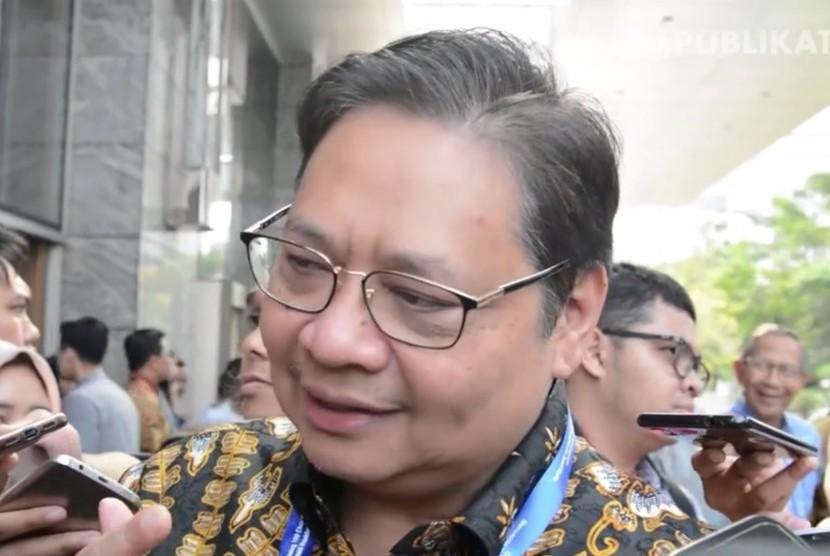 Menteri Perindustrian, Airlangga Hartanto