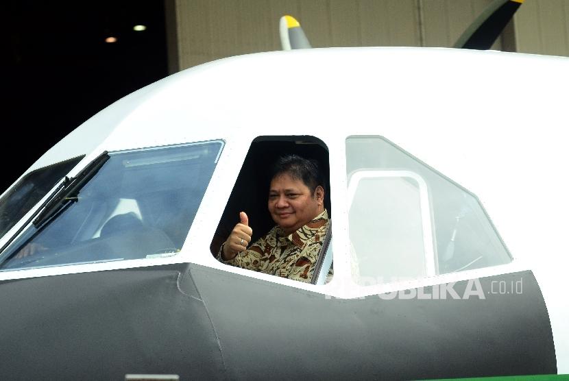 Menteri Perindustrian Airlangga Hartanto.
