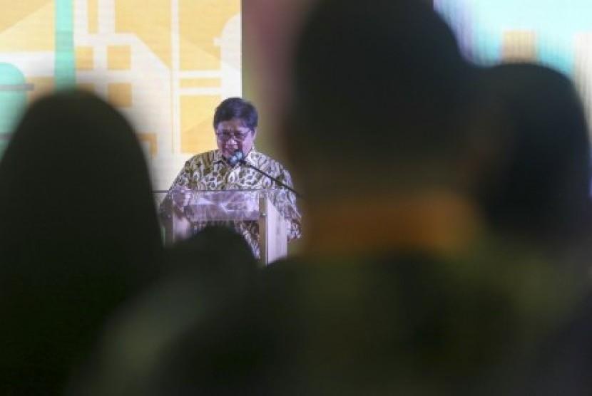 Industry Minister Airlangga Hartarto