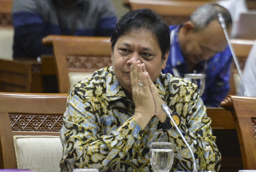 Menteri Perindustrian, Airlangga Hartarto.